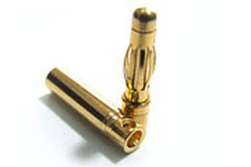 Goldstecker 4mm 1Paar