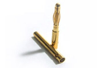 Goldstecker 2mm Paar