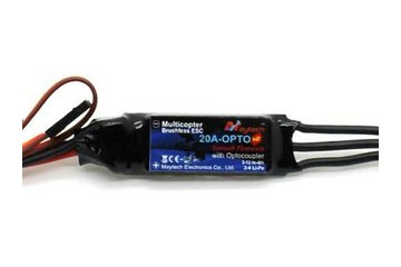 20A Super Slim OPTO Tube ESC, SimonK