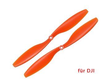 Propeller für DJI 10 x 4.5 orange CW + CCW