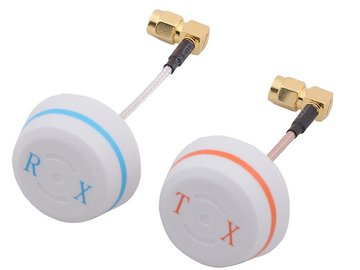 FPV 5.8GHz Circular Polarized Antennen Set  5.8G RX TX (SMA-male) 90 Grad