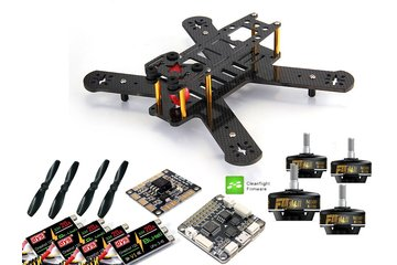 Puffin 210 FPV Drone Race Bausatz Tiger F40 II