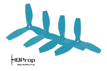 HQProp DPS5x4x3 TRI Blade Blau (Highflyer Edition)