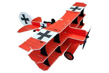 Crack Fokker Dr.1 Triplane Red Baron EPP Dreidecker 890mm