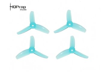 HQProp Durable 3x3x3 TRI Blade Light Blue