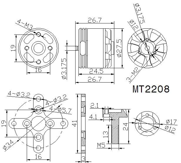 T-Motor-MT2208